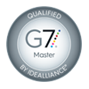 G7 Master Printer certification badge