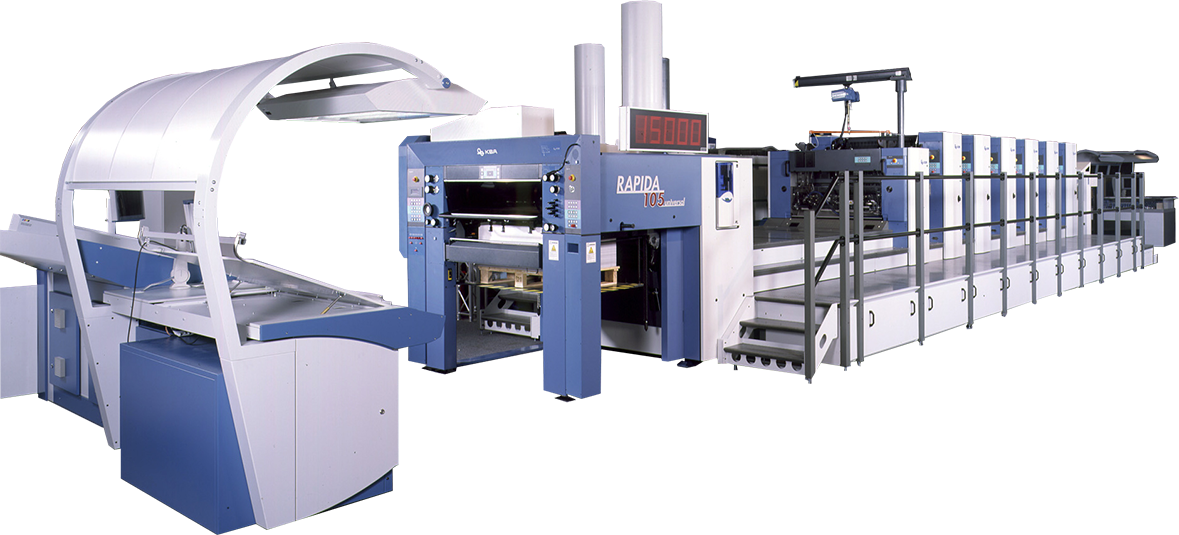 KBA Large-Format UV Offset Presses