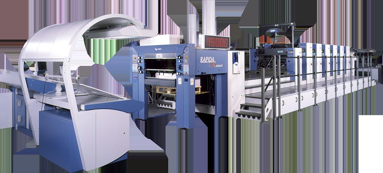 KBA Large-Format UV Offset Presses