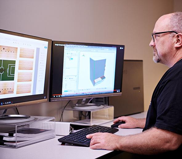 Designing prototype in cad software